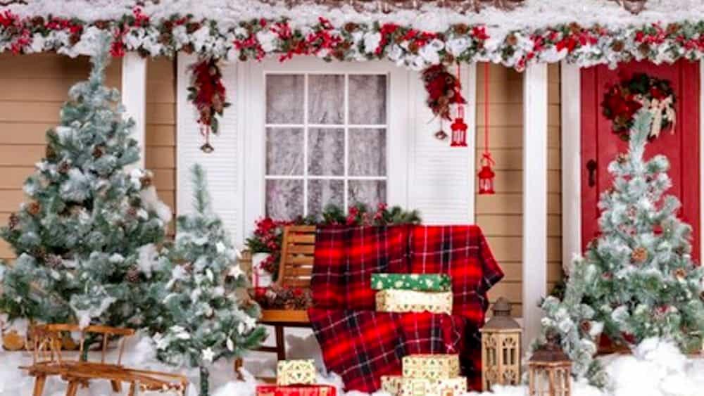 Addobbi Natalizi Giardino.Come Addobbare Il Giardino Per Natale